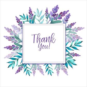 Aquarel hand getekend achtergrond met lavendel bloemen.lente vintage achtergrond