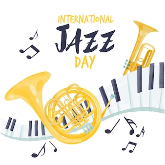 Aquarel internationale jazzdag