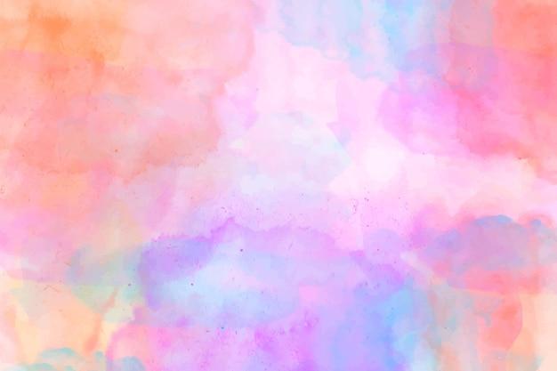 Aquarel kleurrijke abstracte achtergrond