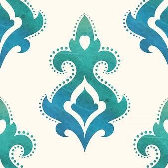 Aquarel naadloze patroon. kan worden gebruikt voor achtergronden en webdesign voor paginavulling. illustratie