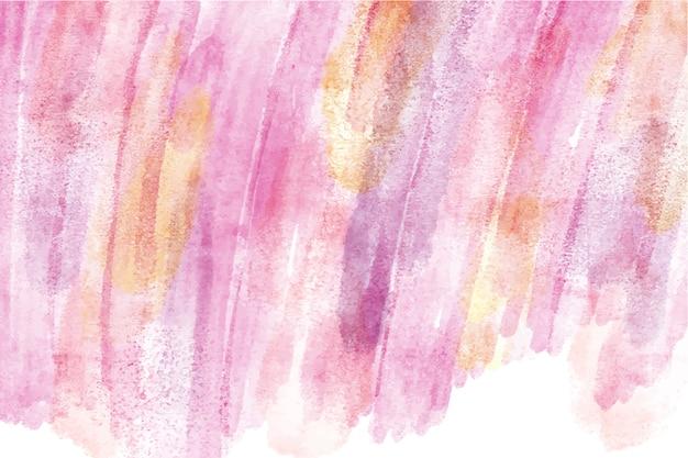 Aquarel ontwerp met de hand geschilderde achtergrond