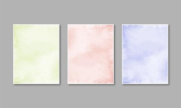 Aquarel pastel textuur handgeschilderde. aquarel kleurrijke vlekken op papier.