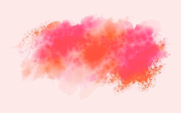 Aquarel penseel textuur achtergrond