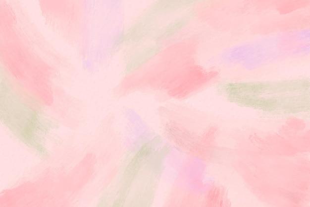 Aquarel penseelstreken achtergrond Gratis Vector