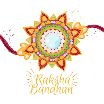 Aquarel raksha bandhan