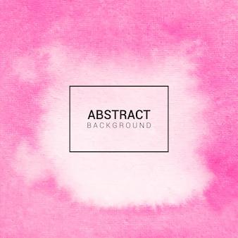 Aquarel roze abstracte achtergrond
