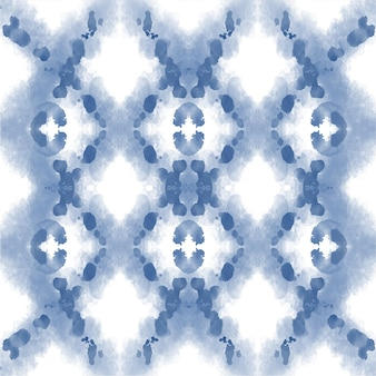Aquarel shibori patroon