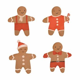 Aquarel speculaaspop cookie collectie