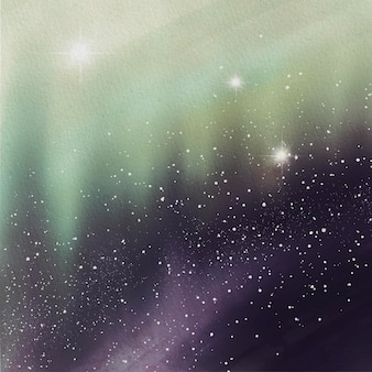 Aquarel sterren