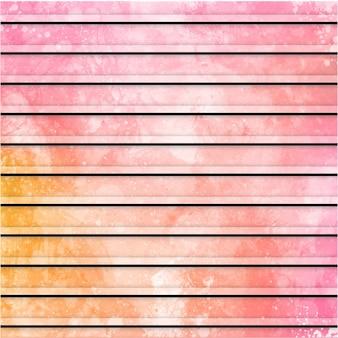 Aquarel strepen patroon achtergrond