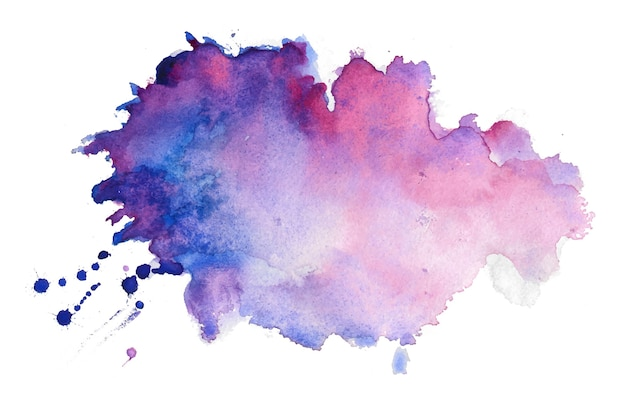 Aquarel textuur splatter vlek achtergrond