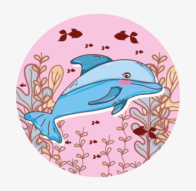 Aquatisch leven in zee