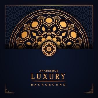 Arabesque luxe achtergrond