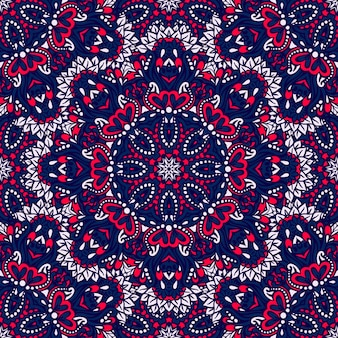 Arabesque naadloos mandala patroon