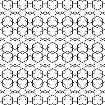 Arabisch delicaat patroon met sterren