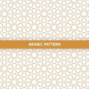 Arabisch islamitisch stijlornament decoratief patroon