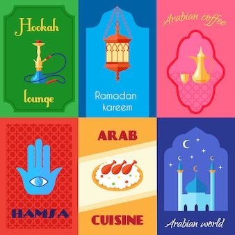 Arabische cultuur miniposter
