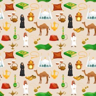 Arabische cultuur naadloos