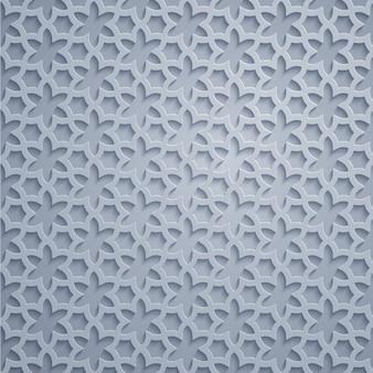 Arabische geometrische patroon mooie overladen