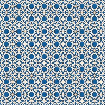 Arabische islamitische stijl sieraad decoratief patroon