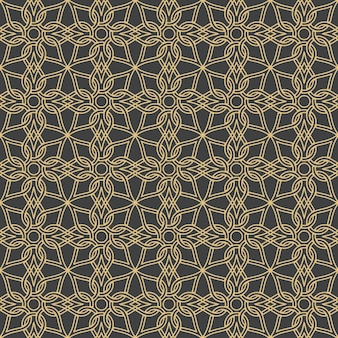 Arabische ornamenten. patronen, achtergronden en wallpapers voor uw ontwerp. textiel sieraad. vector illustratie. Premium Vector