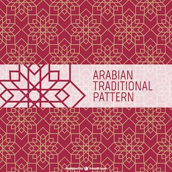 Arabische traditionele patroon