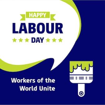 Arbeiders op de arbeidsmarkt verenigen achtergrond