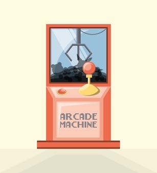 Arcade videogame machine-icoontje