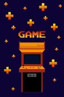 Arcade vintage game