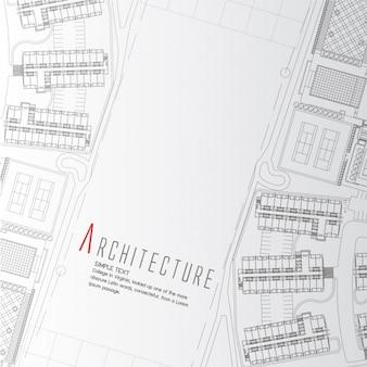 Architectuur achtergrond ontwerp