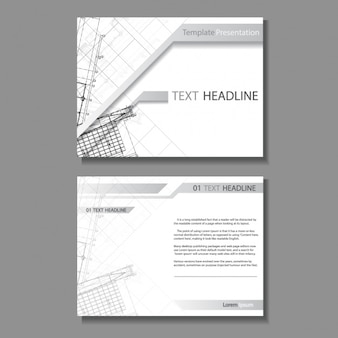 Architectuur brochure design