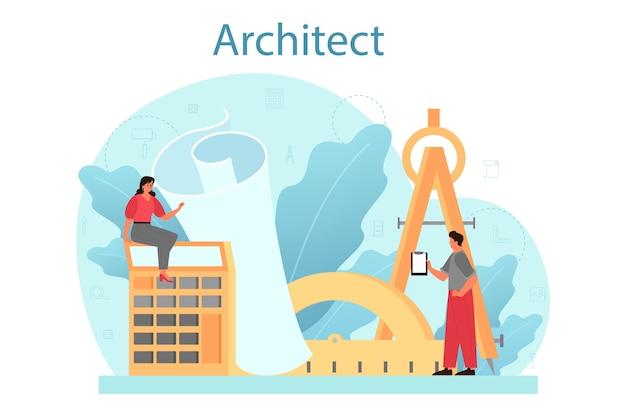 Architectuur concept.