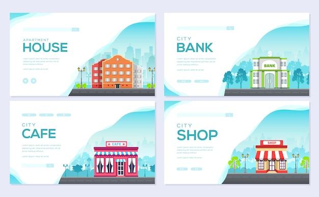 Architectuursjabloon van flyear, tijdschriften, poster, boekomslag. bouw infographic achtergrond.