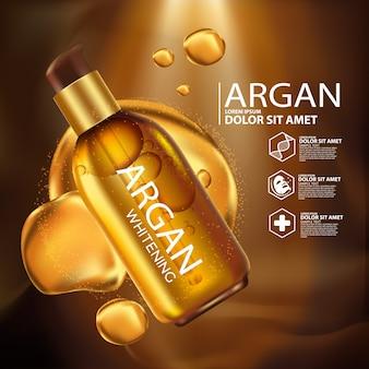 Arganolie serum huidverzorging cosmetica