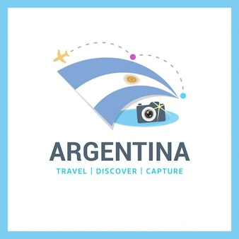 Argentina travel logo