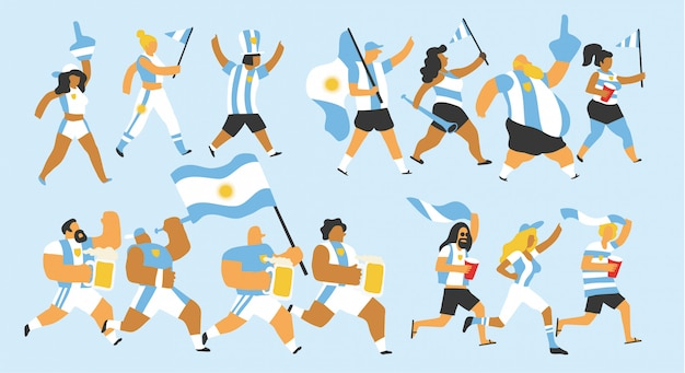 Argentinië fans