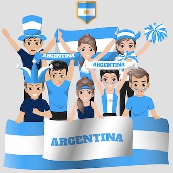 Argentinië national team supporter