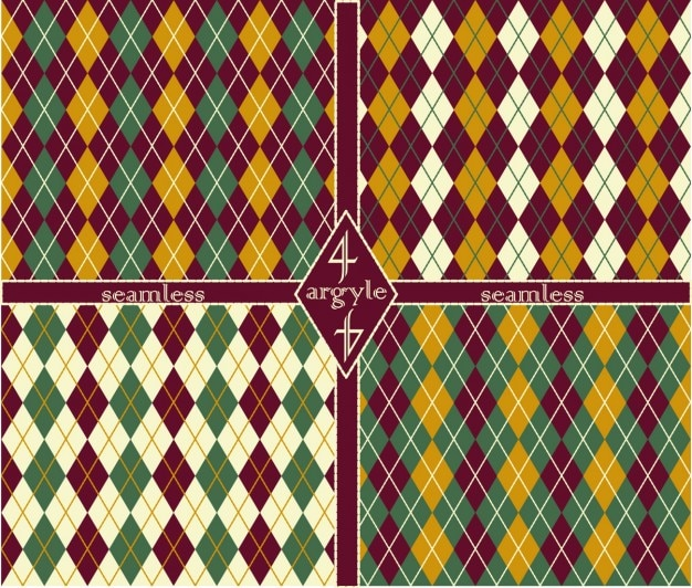 Argyle patronen collectie