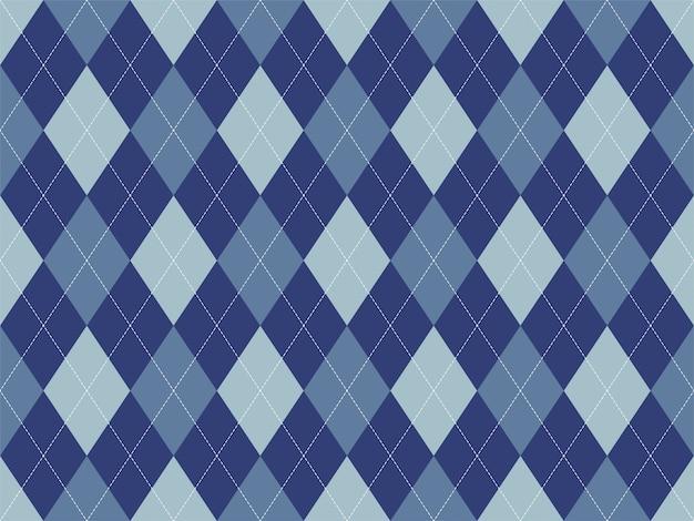 Argyle patroon naadloos. stof textuur achtergrond. klassiek argill ornament