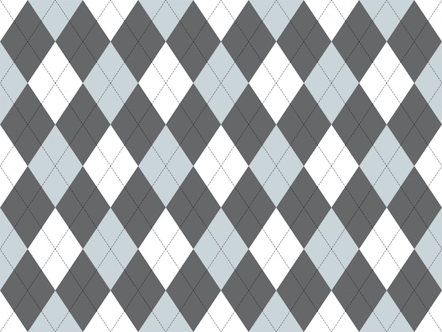 Argyle patroon naadloos. stof textuur achtergrond. klassiek argill-ornament