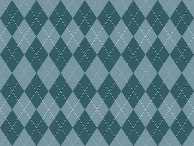 Argyle patroon naadloos. stof textuur achtergrond. klassiek argill vectorornament.