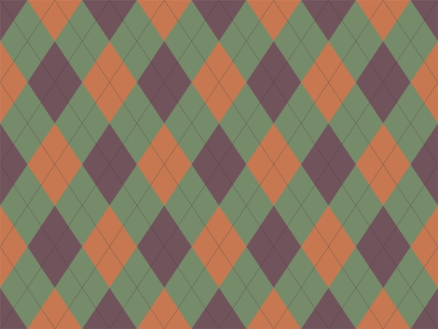 Argyle patroon naadloos