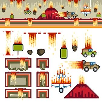 Armageddon vlakke spellevenset