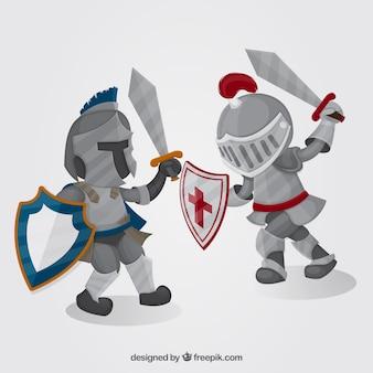 Armor ridders vechten