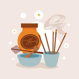 Aromatherapie met honing