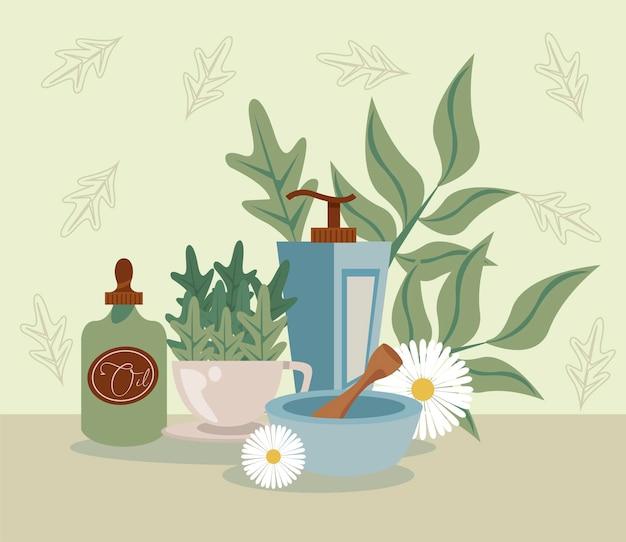 Aromatherapie met olie