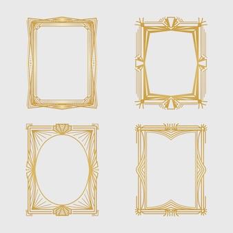Art deco frame collectie