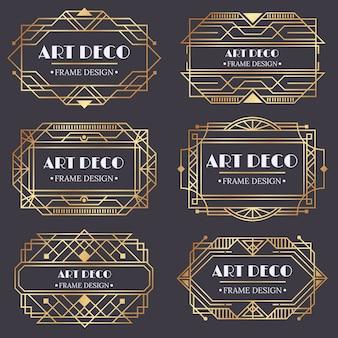 Art deco lijst