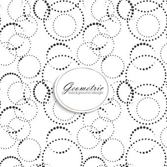 Art deco naadloos patroon met gometrische elementen