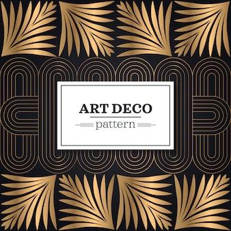 Art deco naadloos patroon